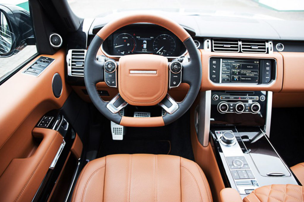 Tapiterie Range Rover